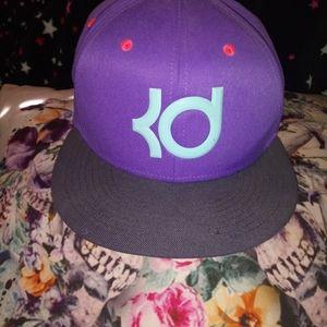 Women's purple pink blue Nike KD cap hat
